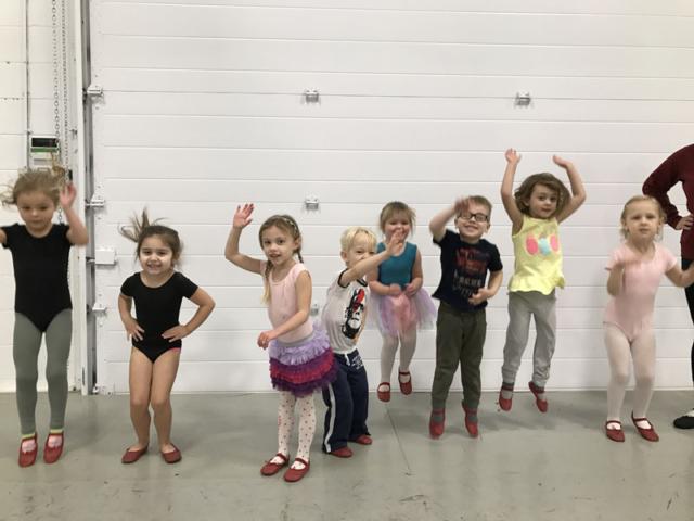 Tavria's Sadochuk Class Starts Dancers at 3-4 years old