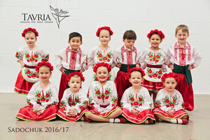 Tavria ukrainian Dance School - Sadochuk #2 2017