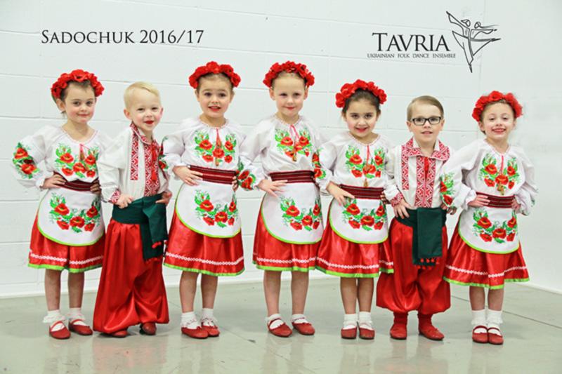 Tavria School of Ukrainian Dance - Sadochuk Class #1 - 2016-2017