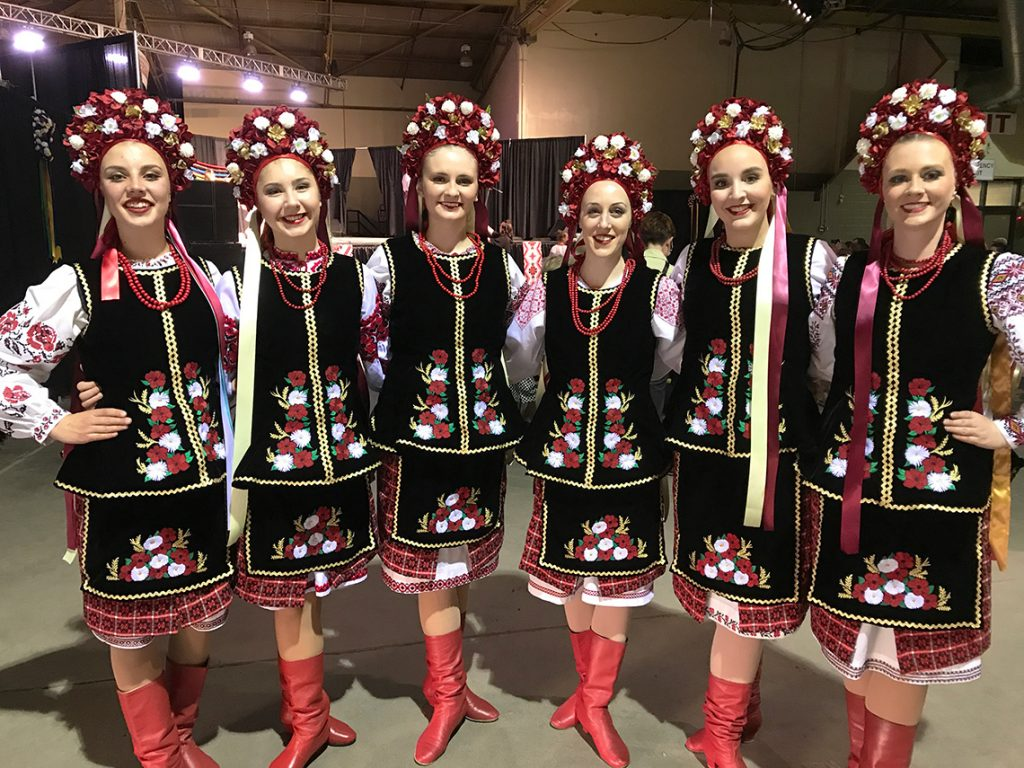 Ukrainian dance group Regina - At Mosaic Festival